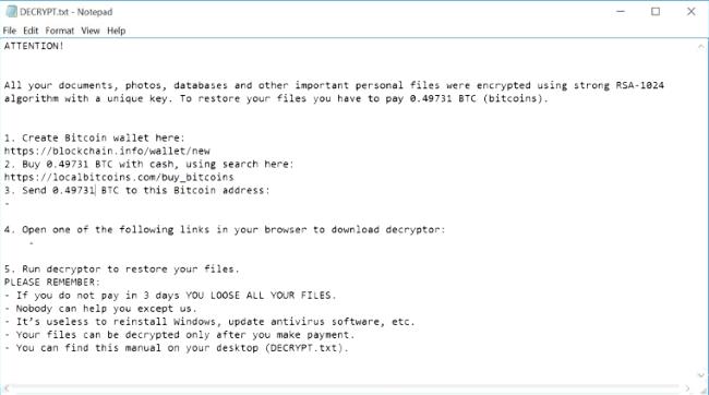 nemucod ransomware virus