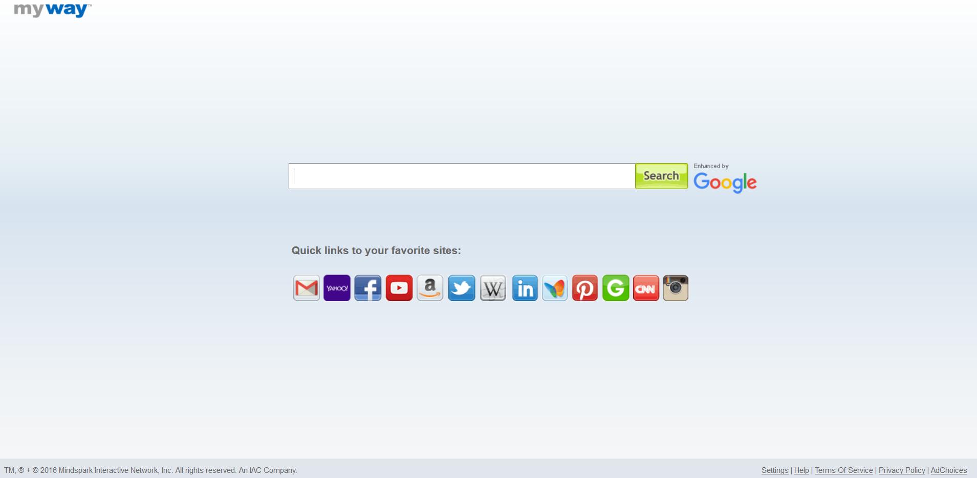 Search.myway.com hijacker