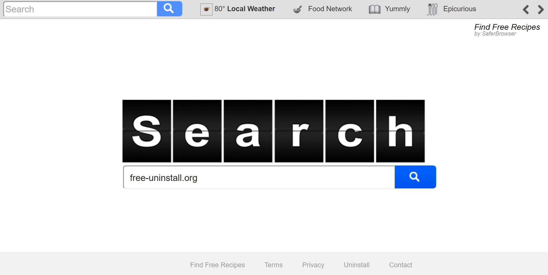 Search.searchffr.com hijacker