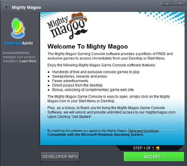 Mighty Magoo Ads
