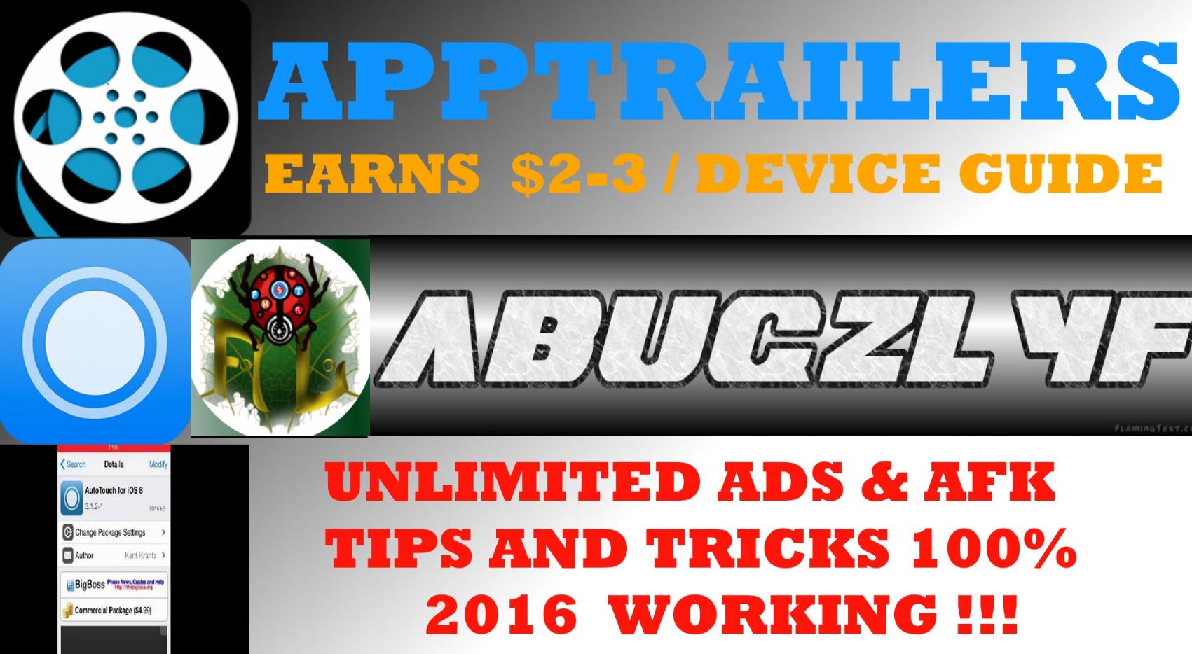 AppTrailers Ads