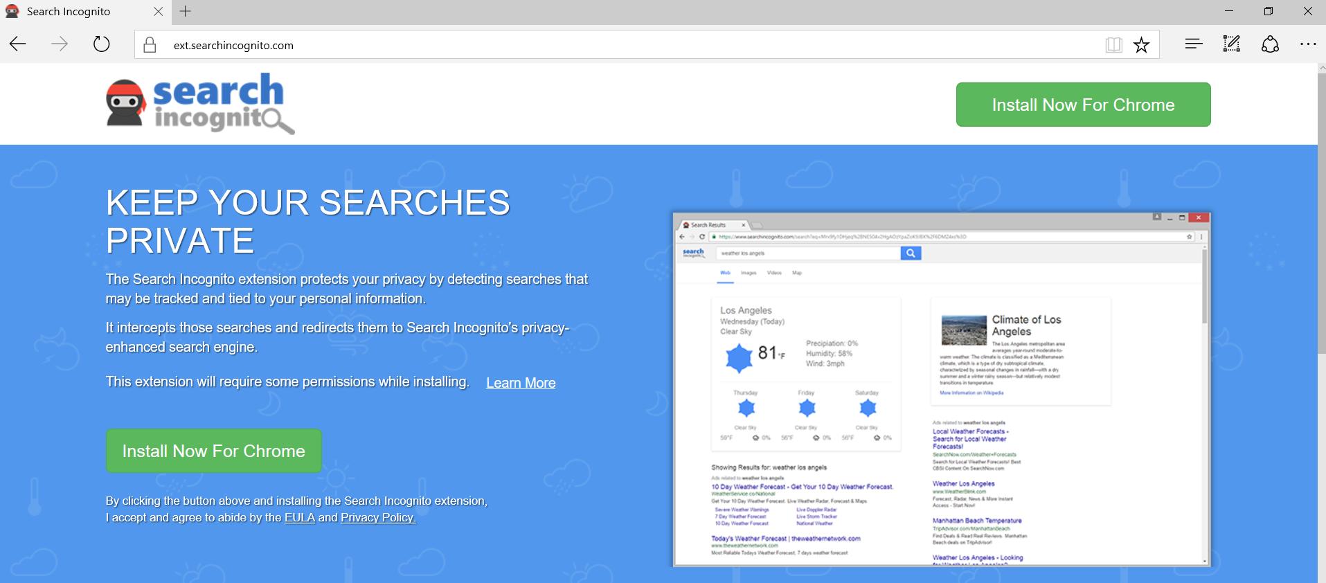 Ads by Search Incognito