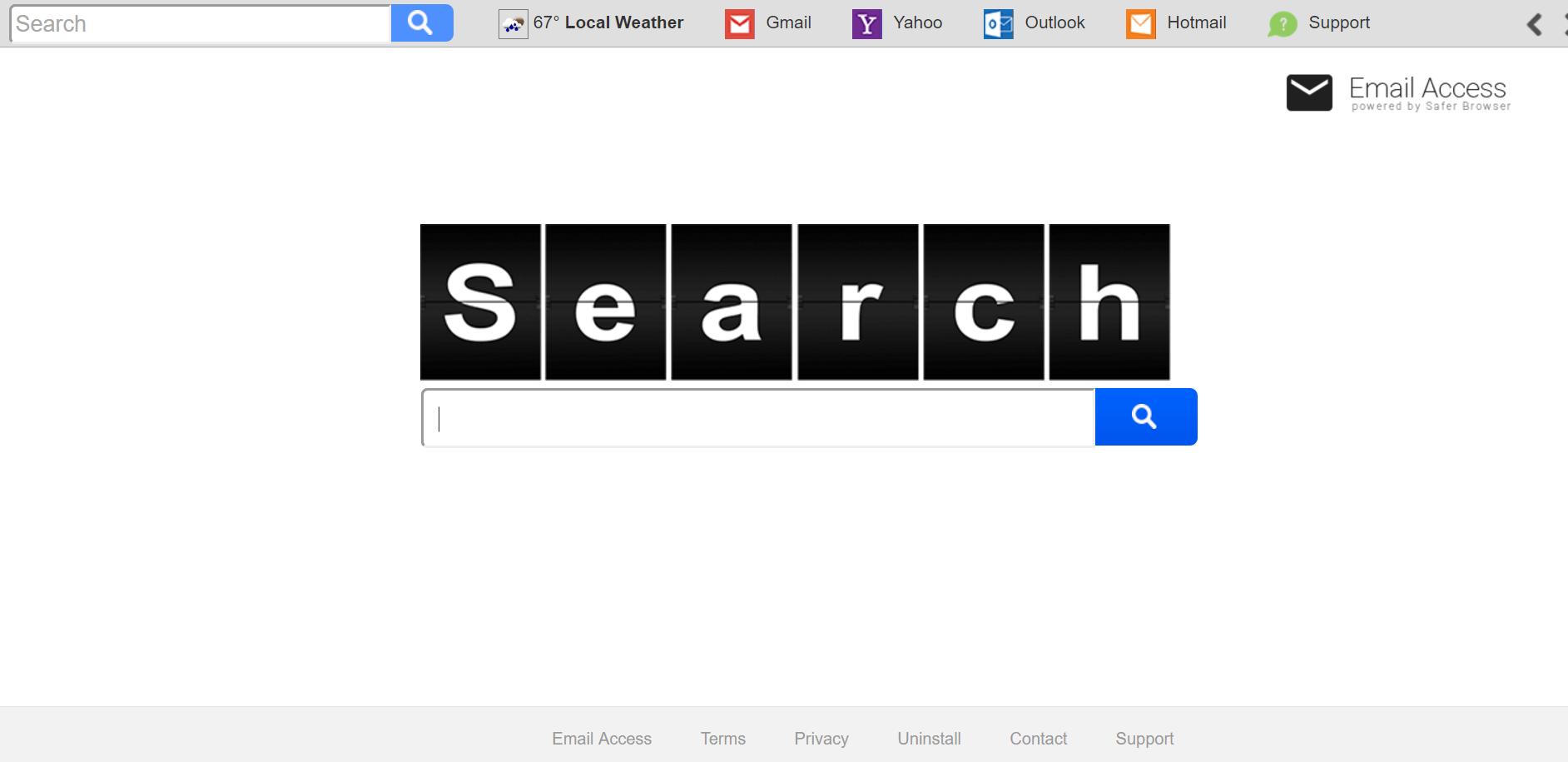 Search.searchemaila.com Hijacker