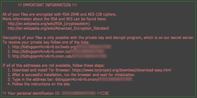 aesir ransomware virus