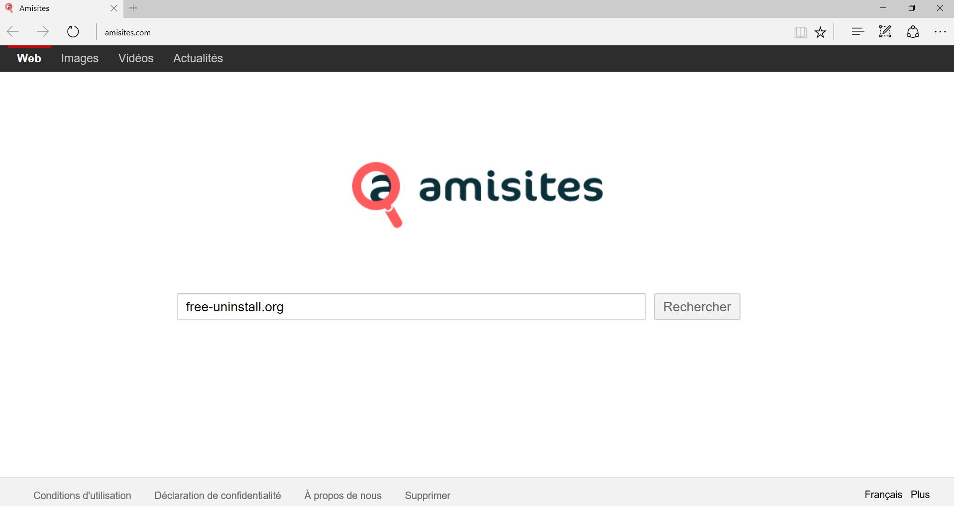 Amisites.com Hijacker