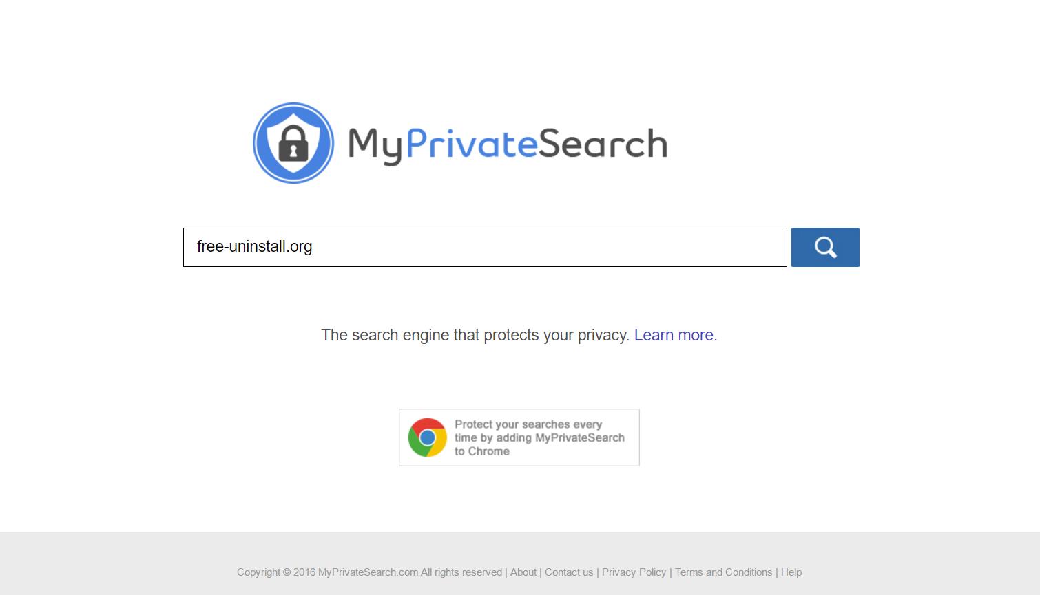 Myprivatesearch.com Hijacker