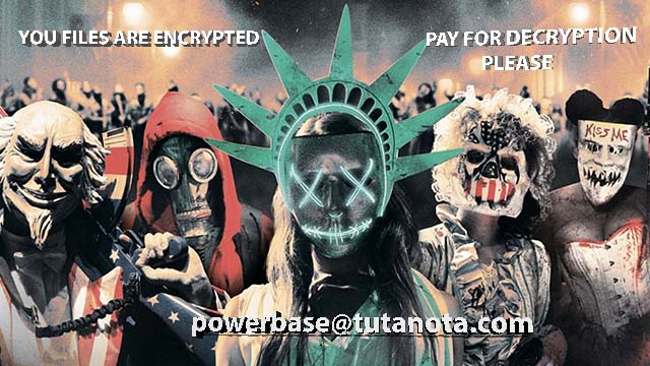 purge ransomware background