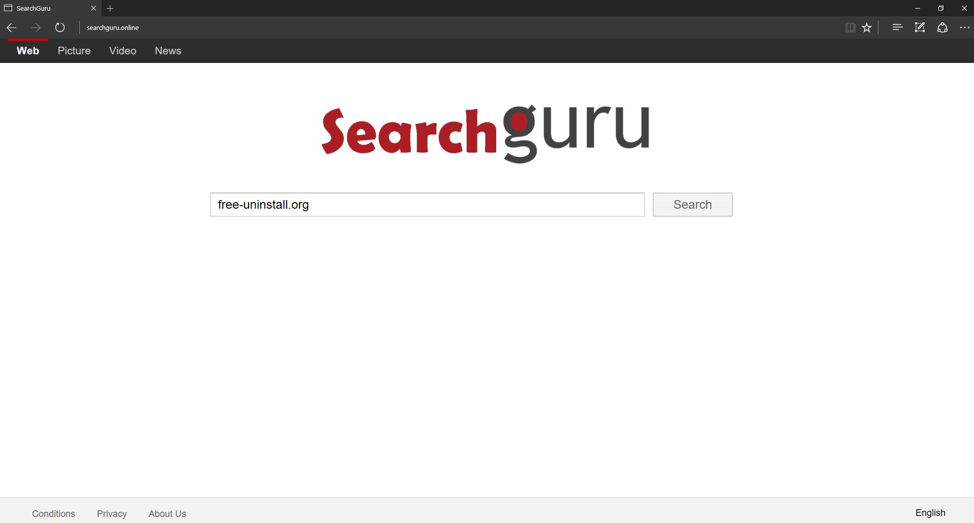 Searchguru.online Hijacker