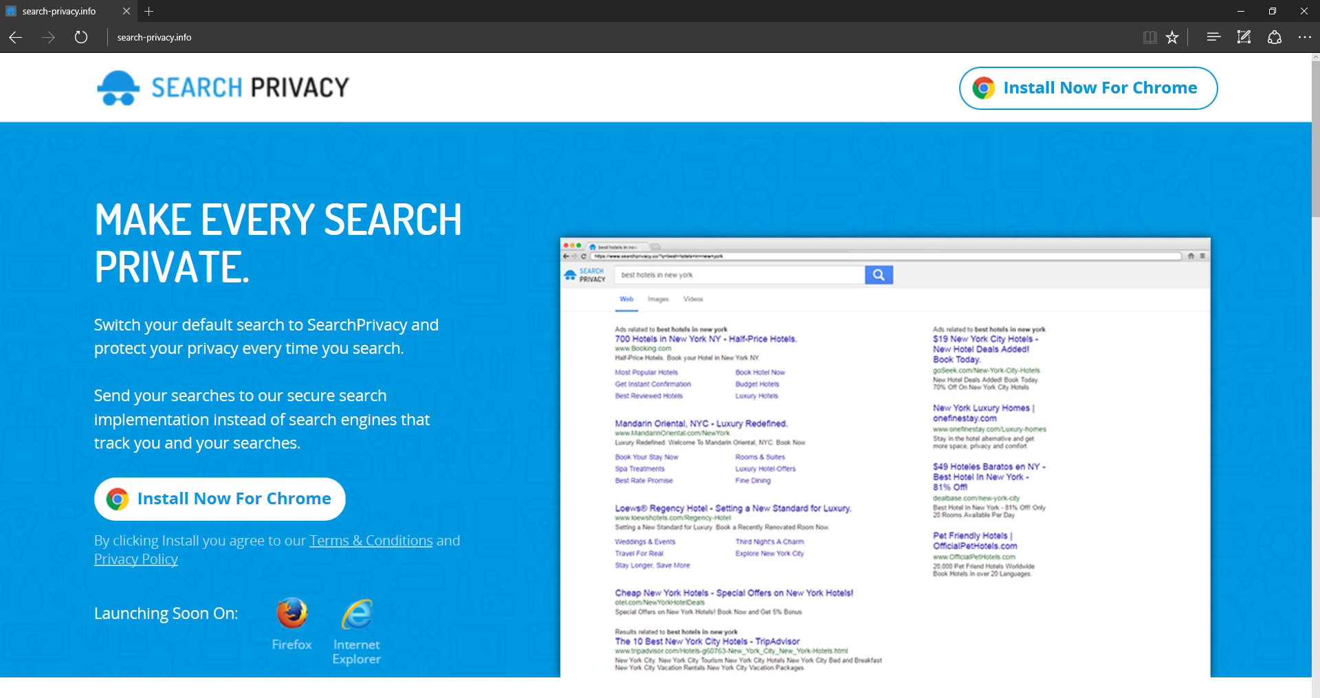 ads by SearchPrivacy.website