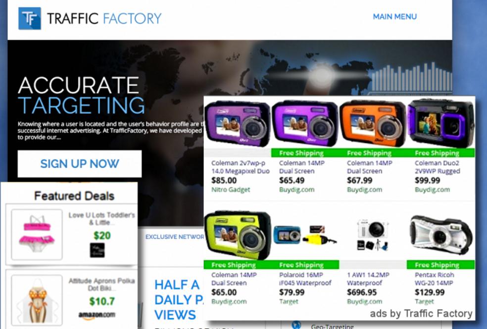 Ads by Trafficfactory.biz