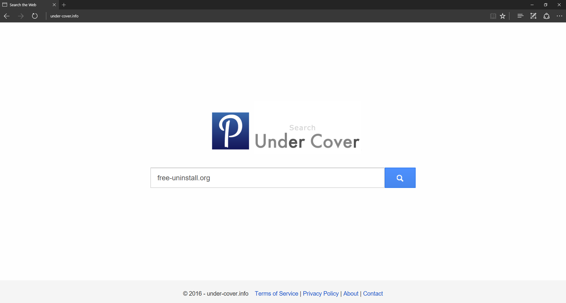 Under-cover.info Hijacker