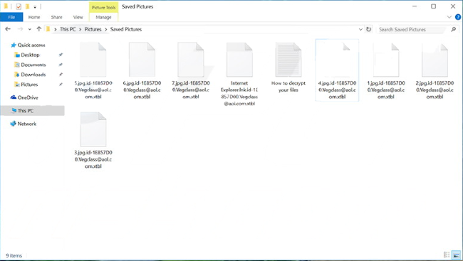 vegclass encrypted files