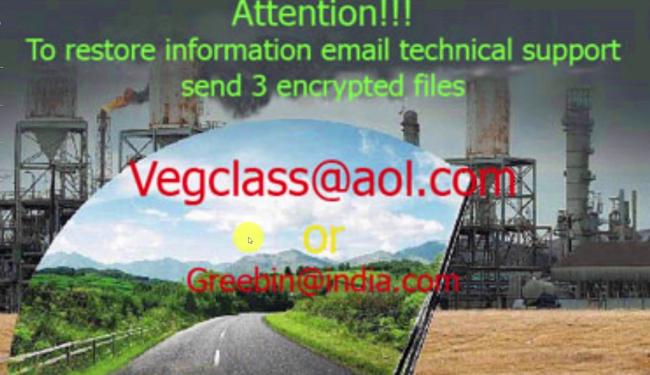 vegclass ransomware virus