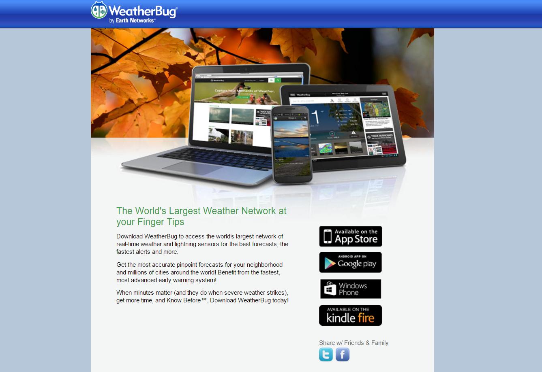 ads by WeatherBug