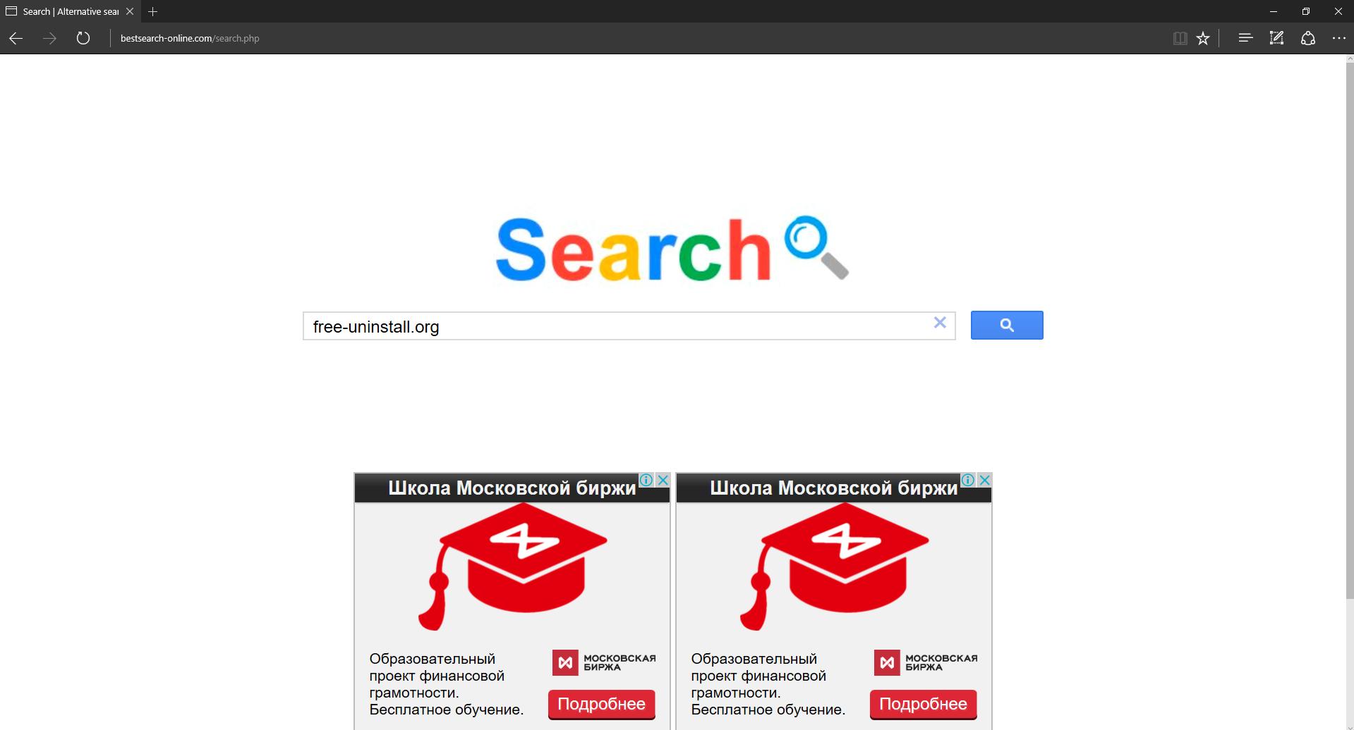 Bestsearch-online.com Hijacker