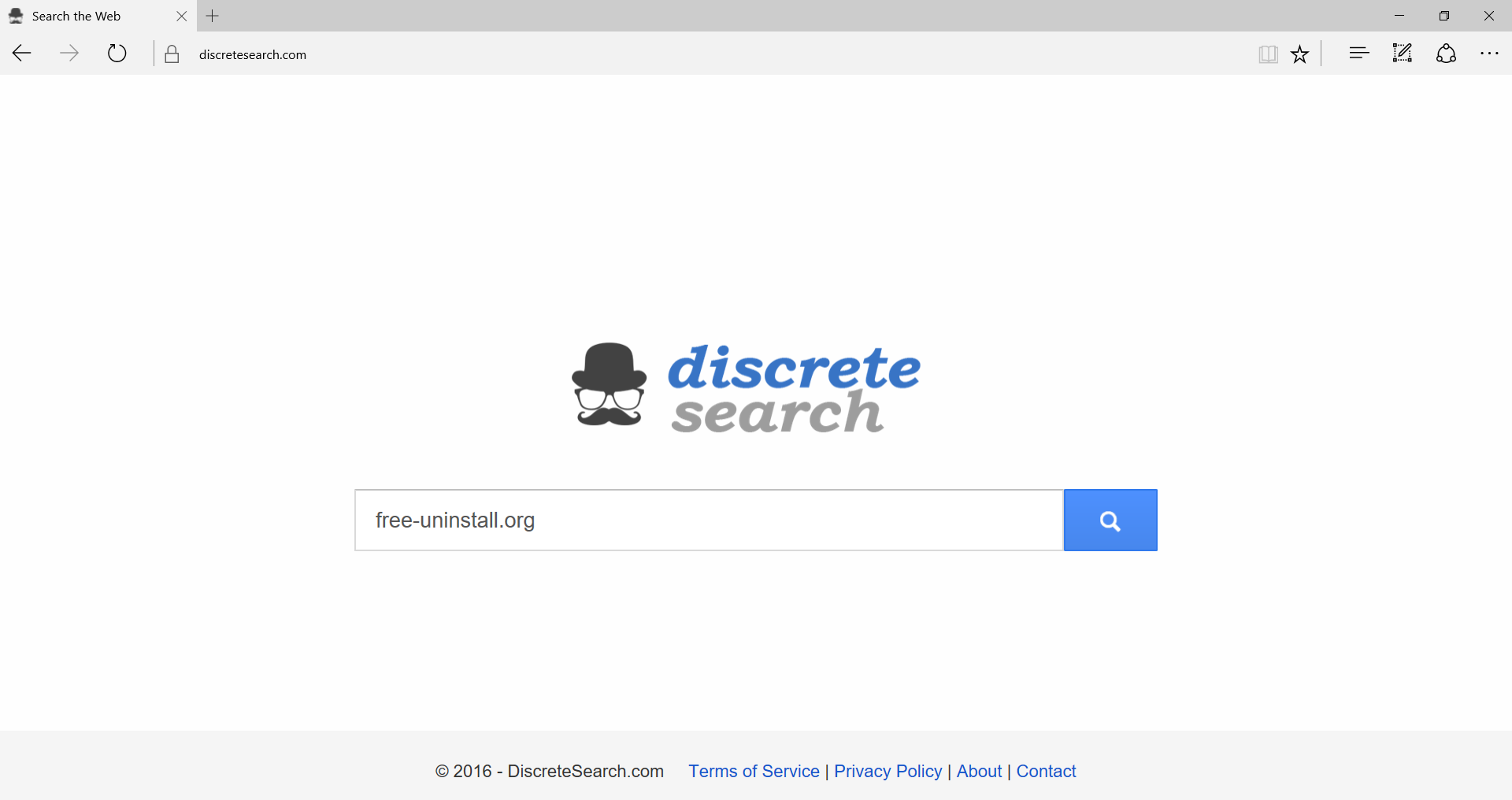 Discretesearch.com Hijacker