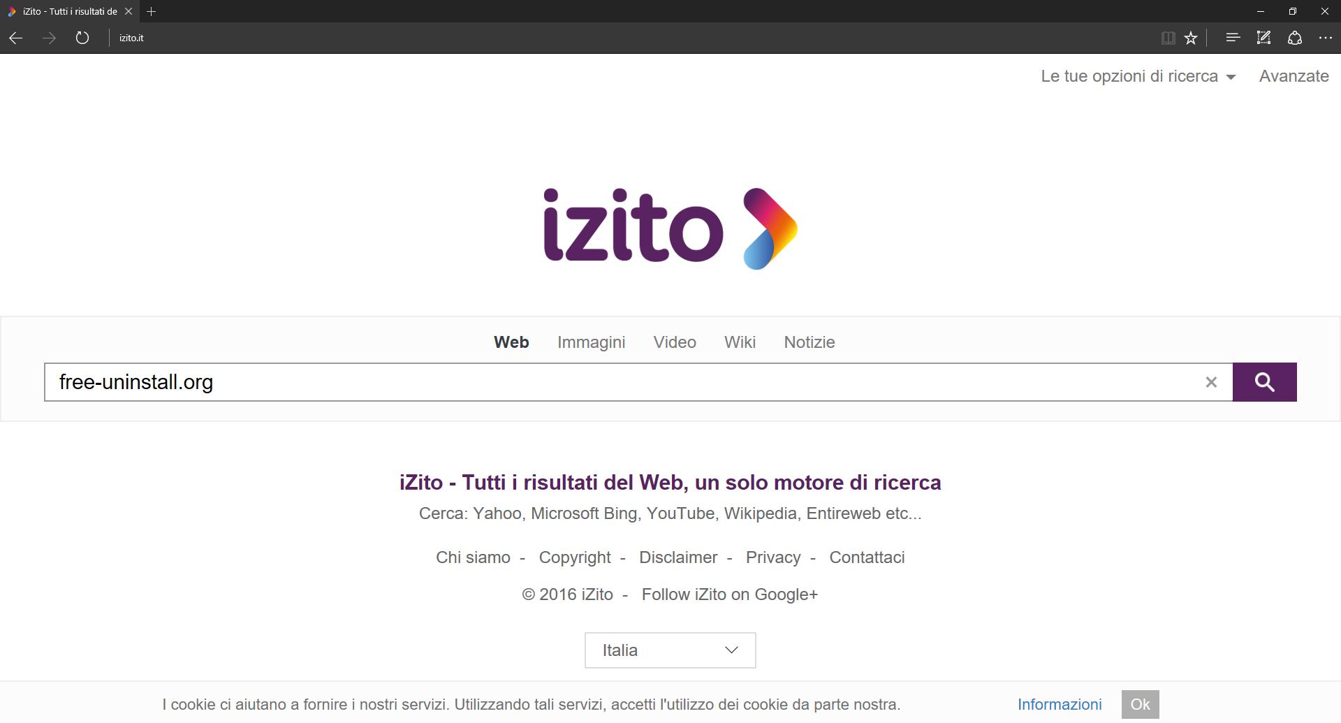 Izito.it Hijacker