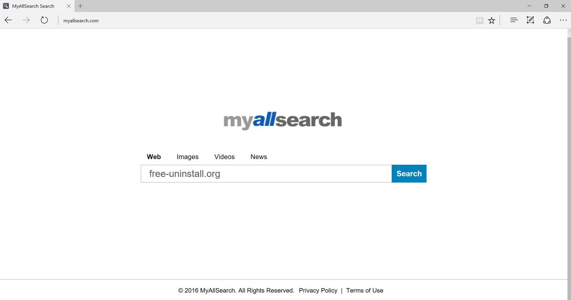 Myallsearch.com Hijacker
