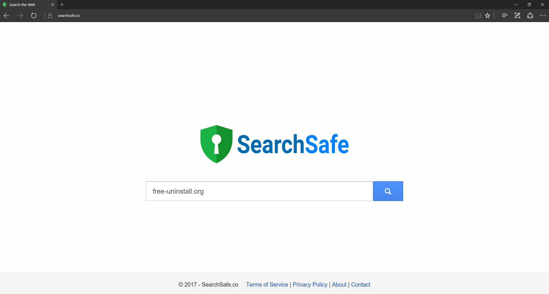 Searchsafe.co Hijacker