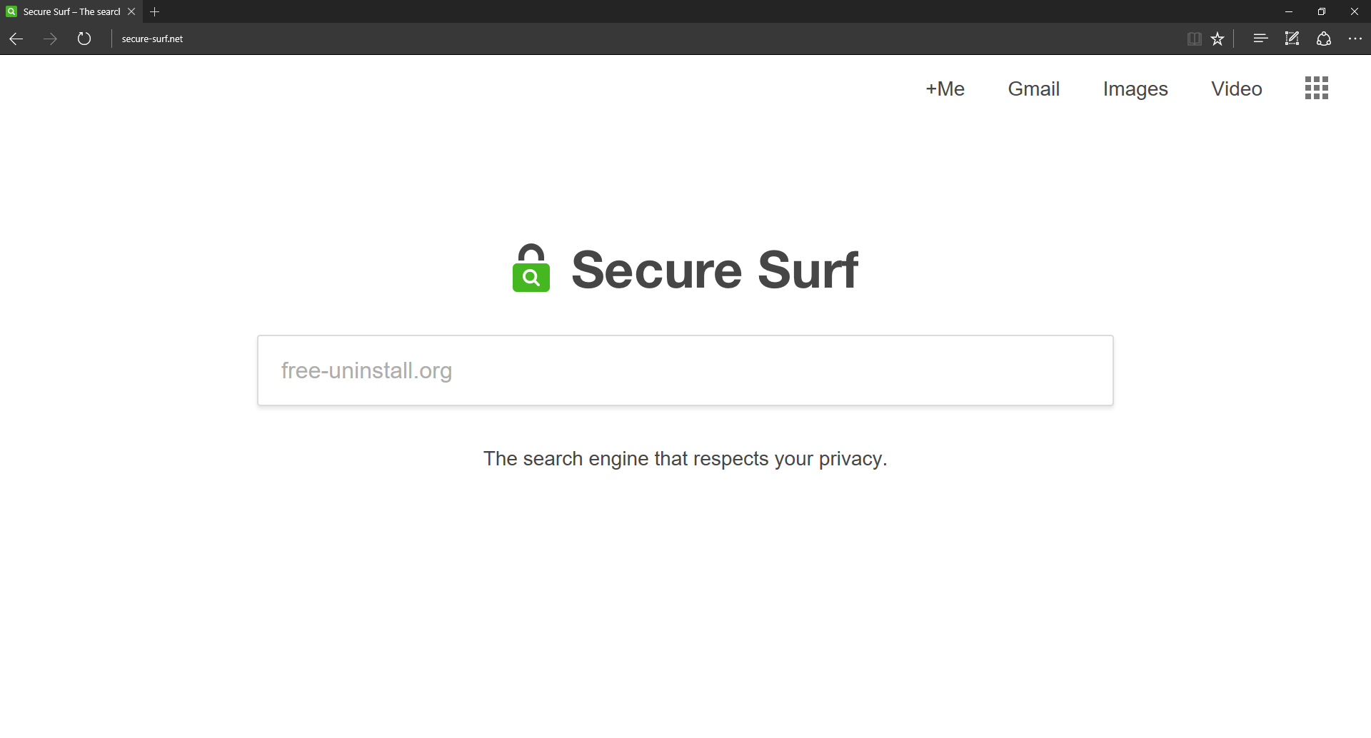 Secure-surf.net Hijacker