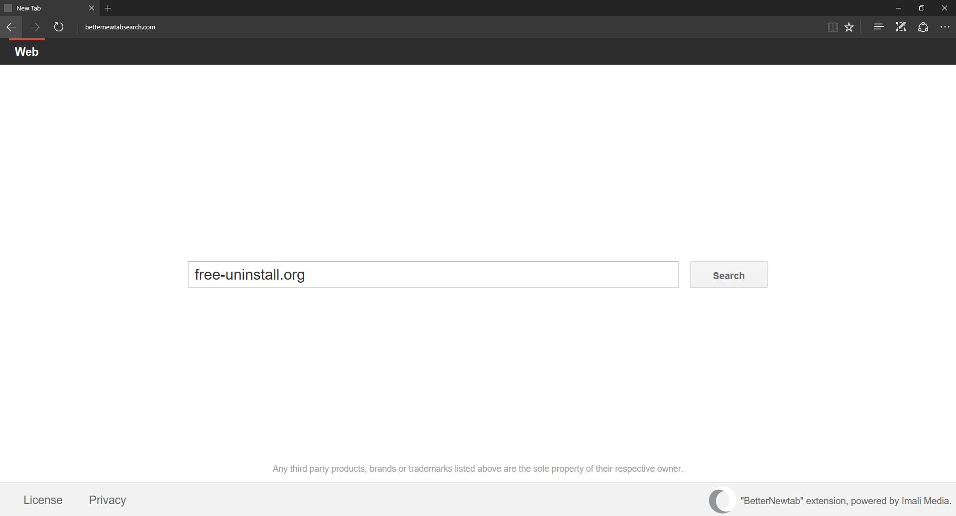 Betternewtabsearch.com Hijacker