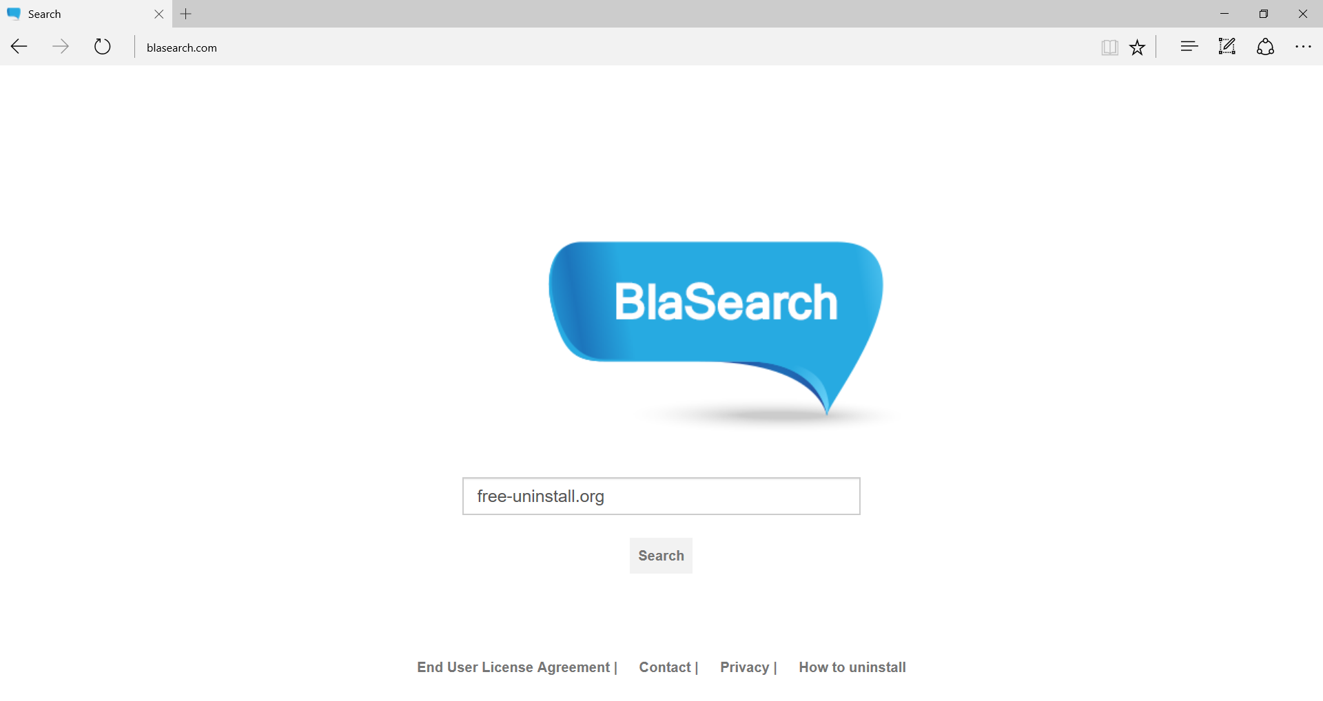 Blasearch.com Hijacker