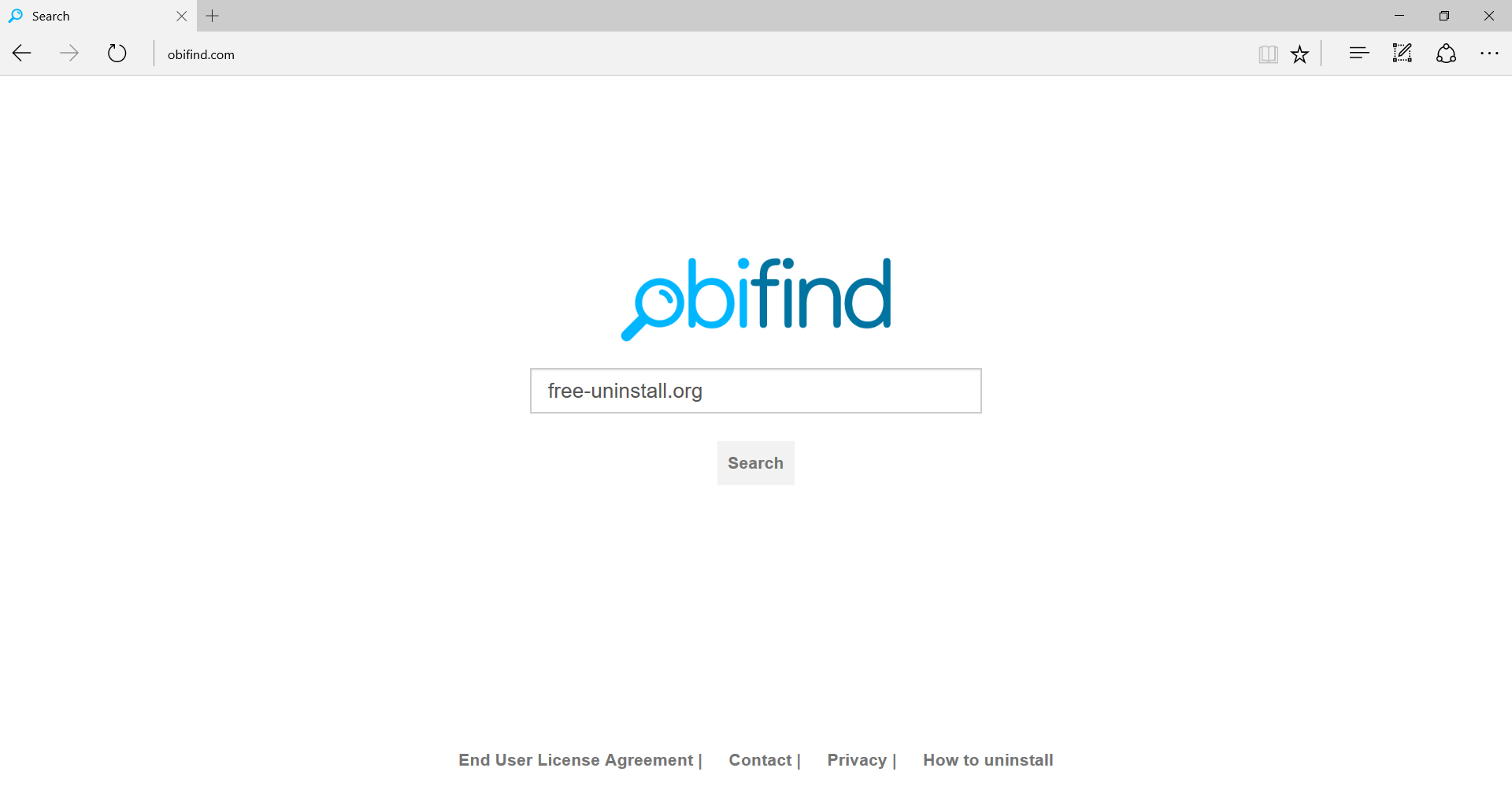 Obifind.com Hijacker