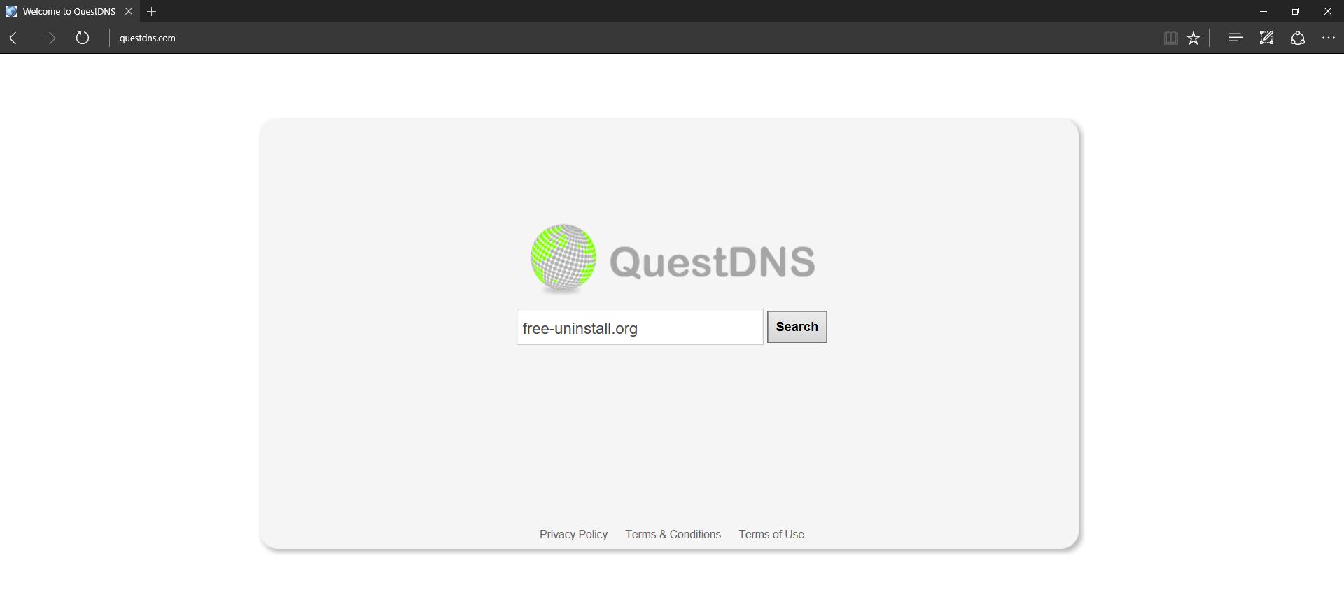 QuestDNS.com Hijacker