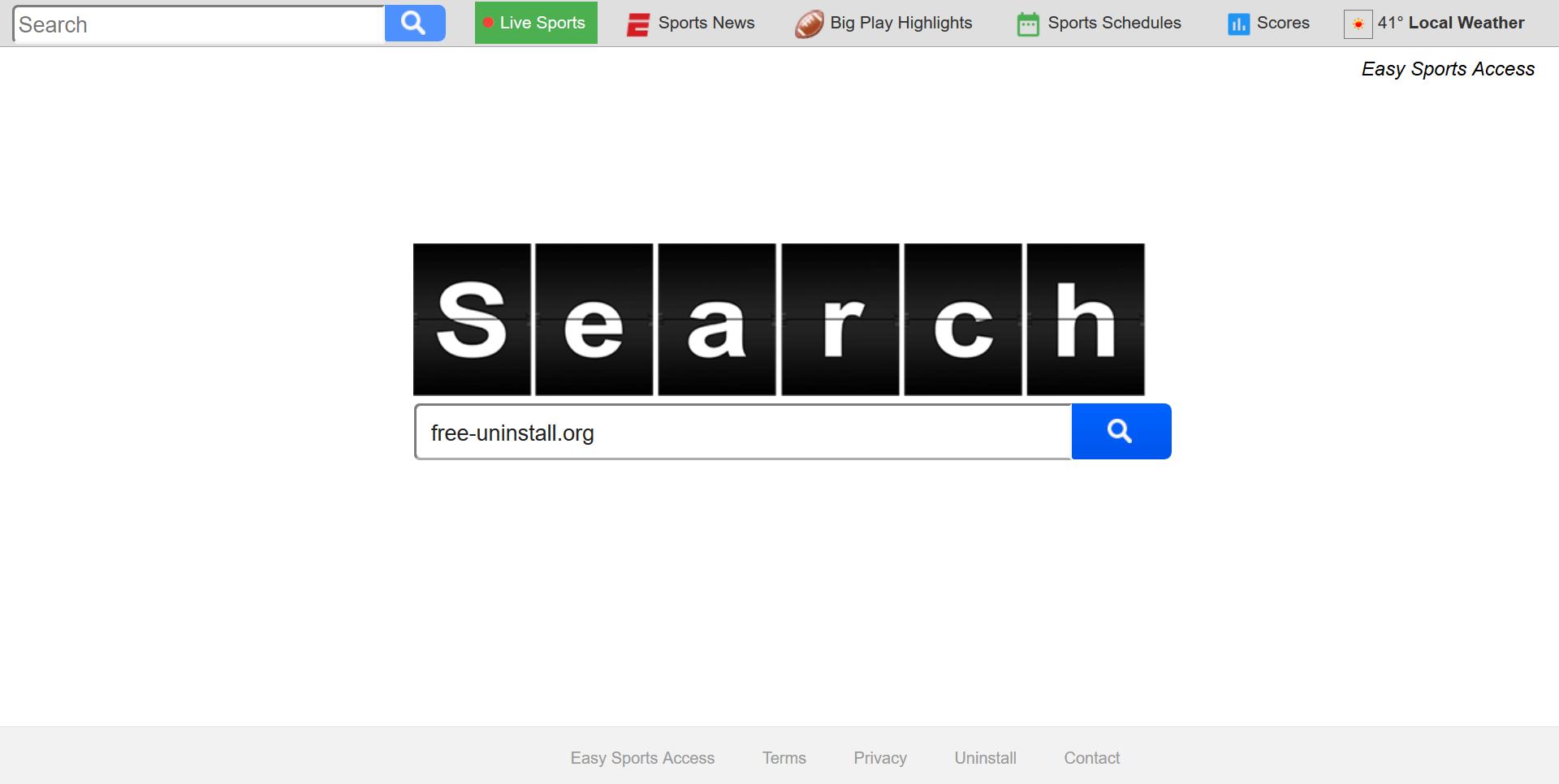 Search.searcheasysa.com Hijacker