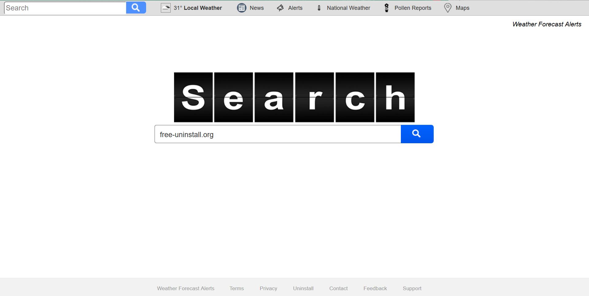 Search.searchwfaa.com Hijacker