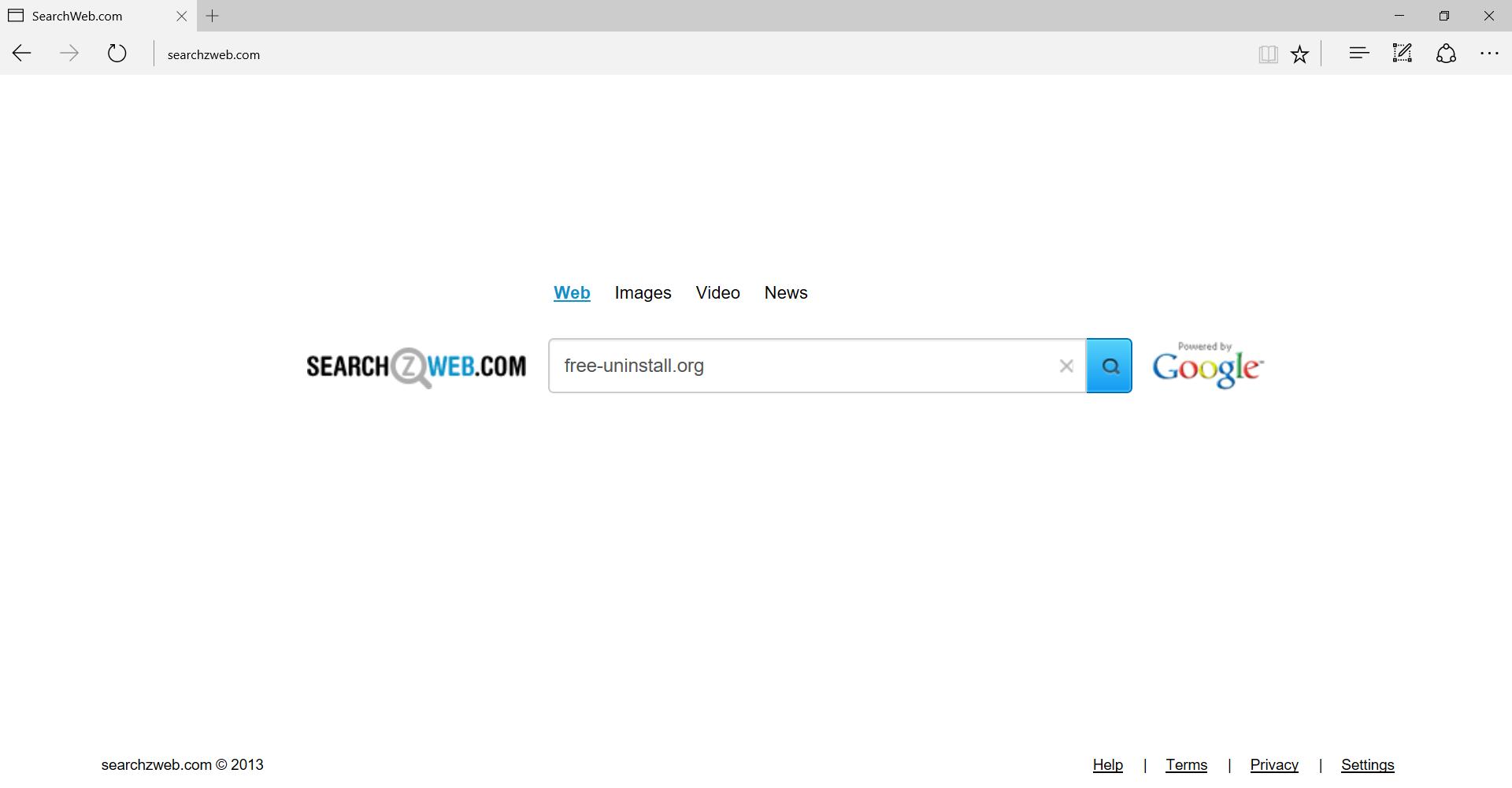 Searchzweb.com Hijacker