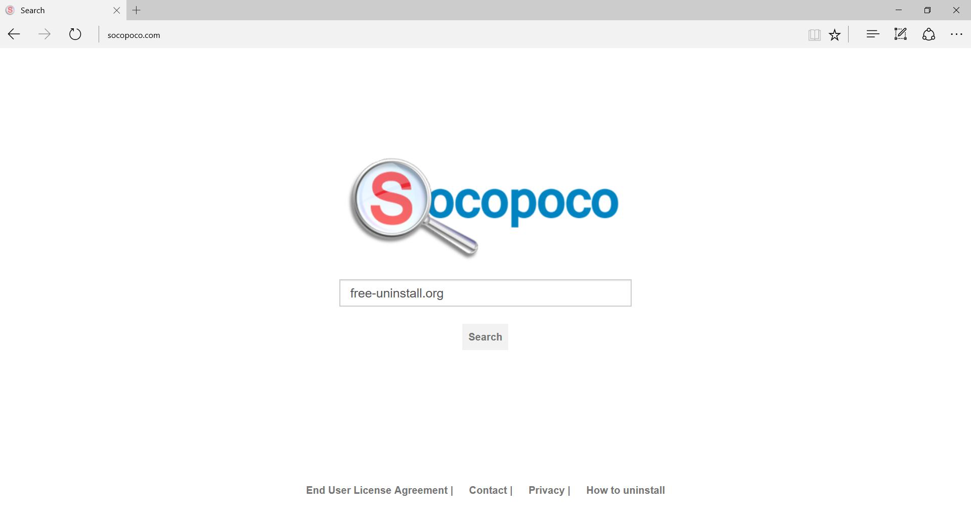 Socopoco.com Hijacker