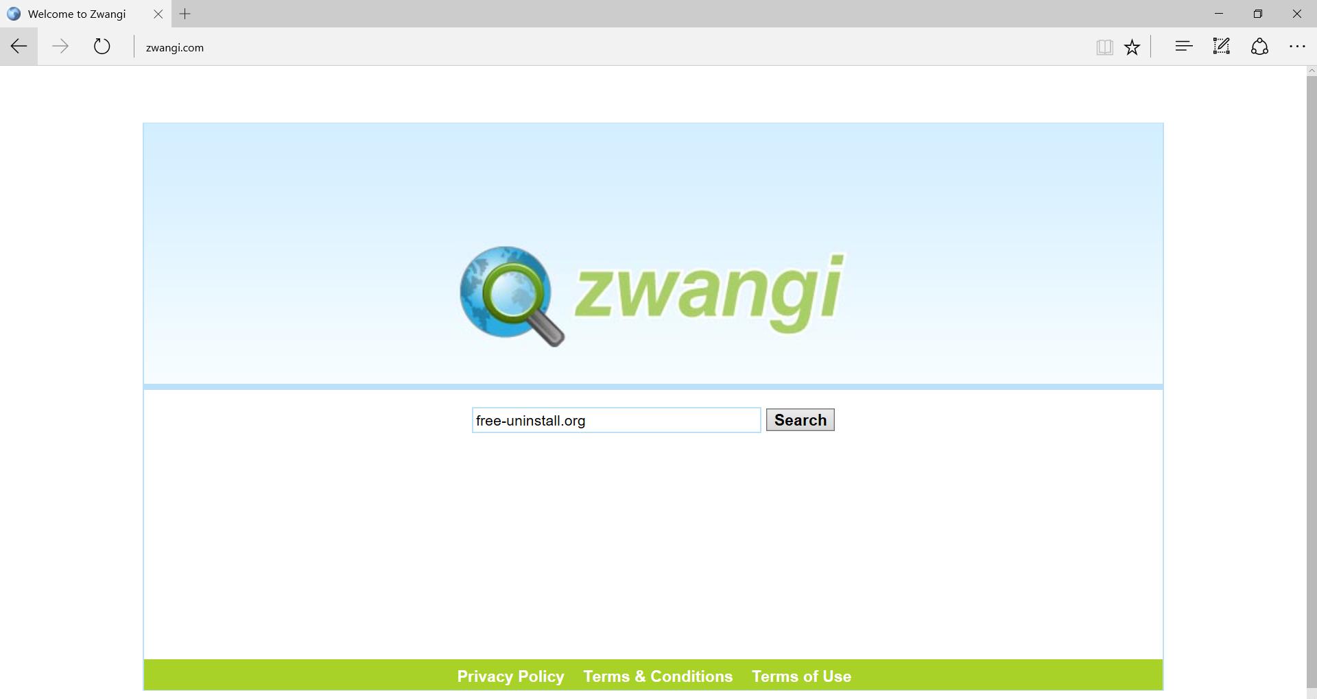 Zwangi.com Hijacker