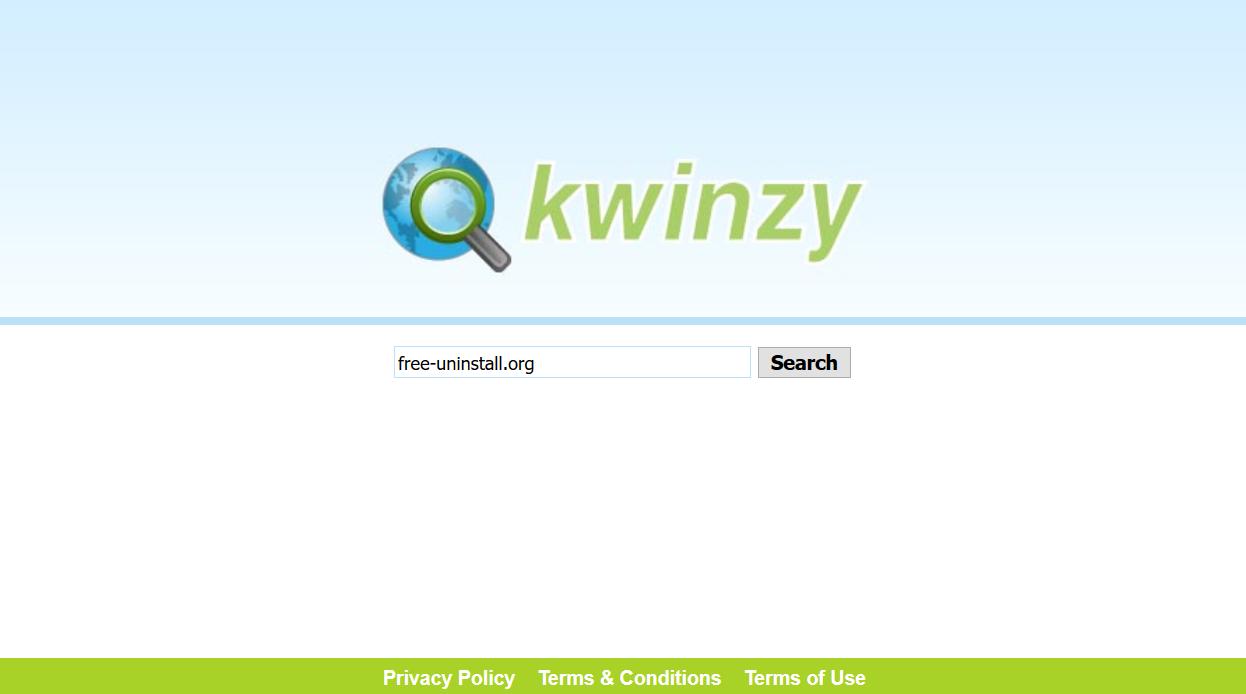 Kwinzy.com Hijacker