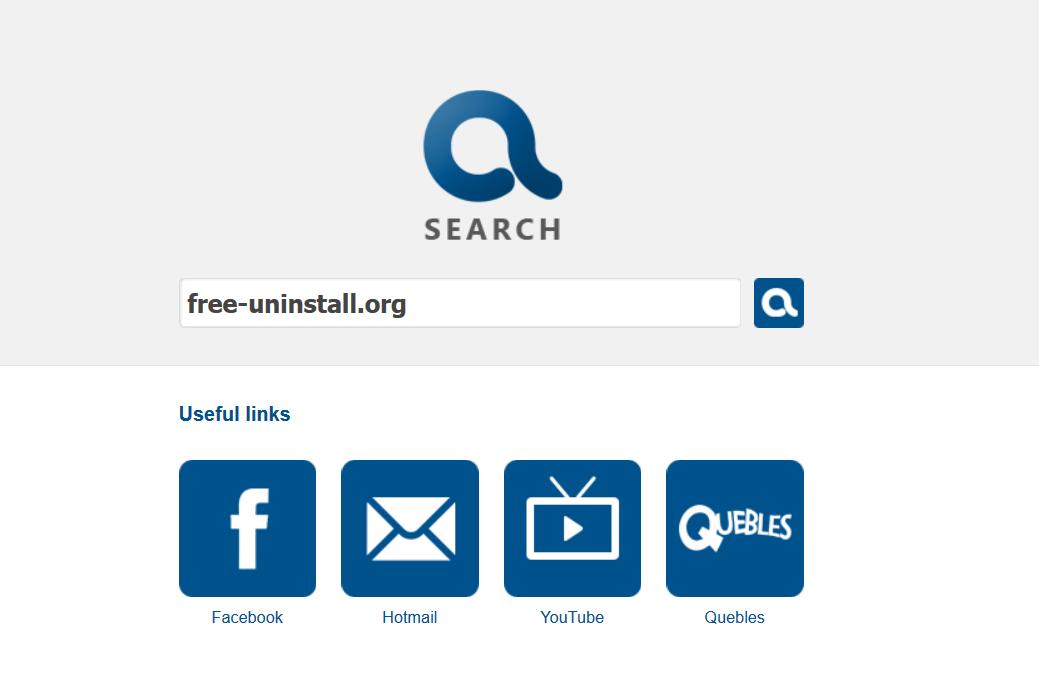 Search.quebles.com hijacker