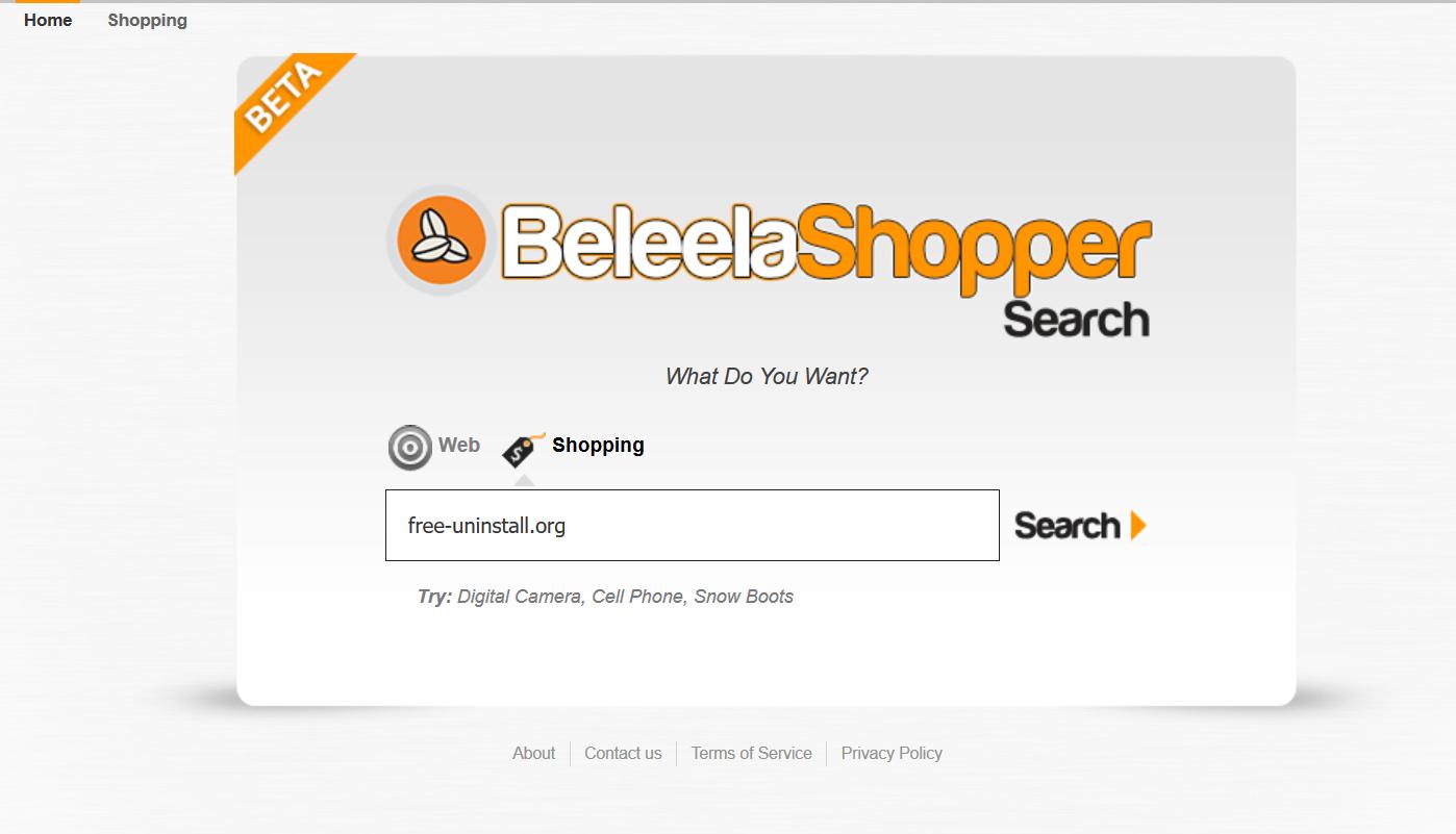 BeleelaShopperSearch.com Hijacker