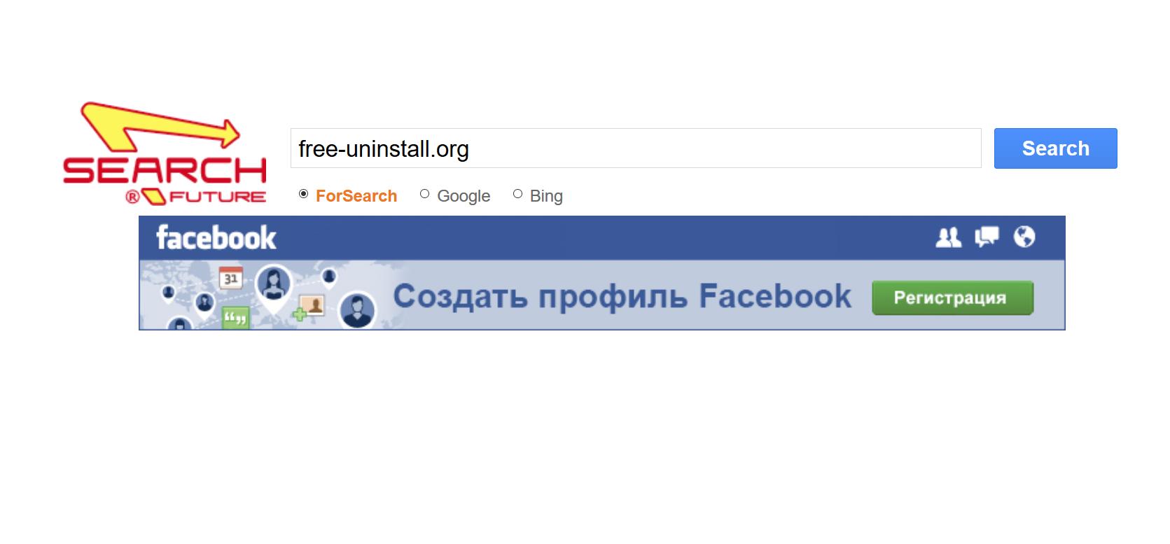 Forsearch.net Hijacker