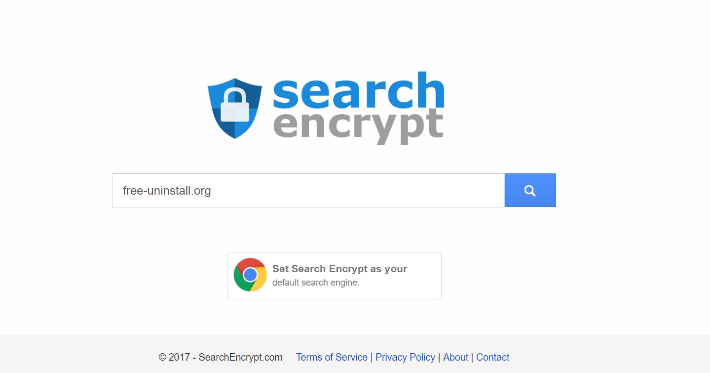 Searchencrypt.com Hijacker