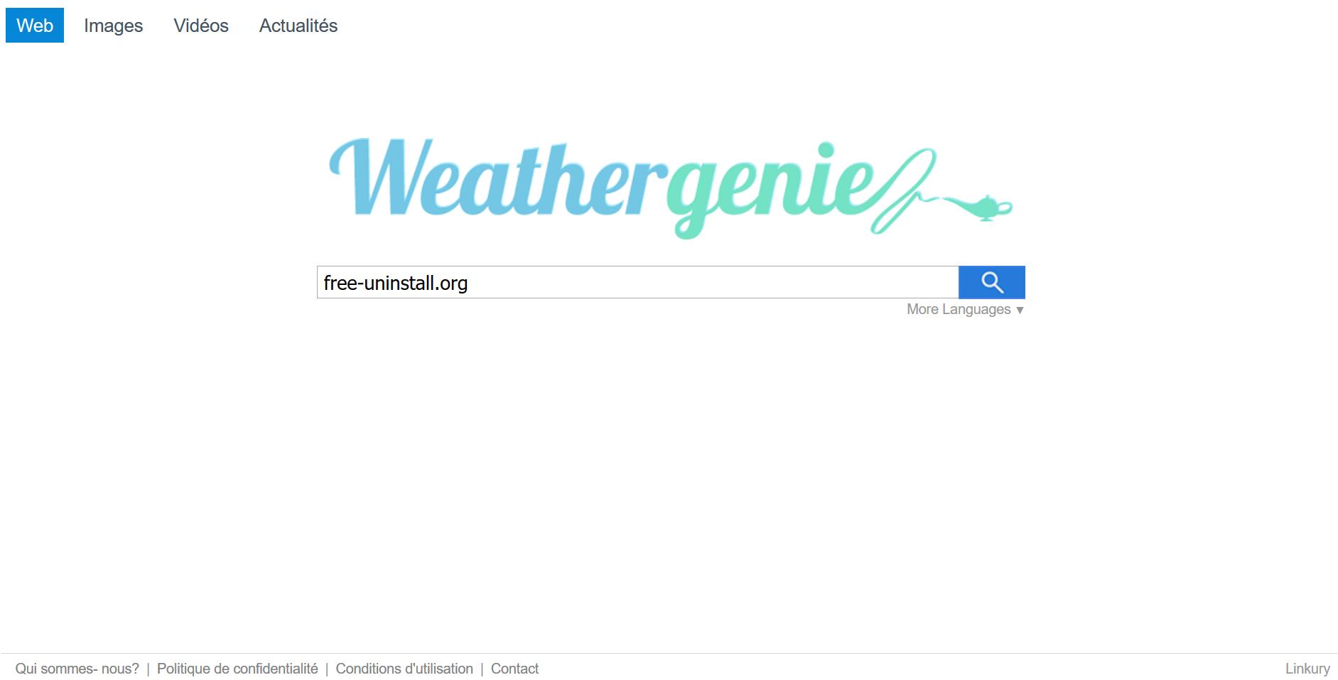 Search.weather-genie.com Hijacker