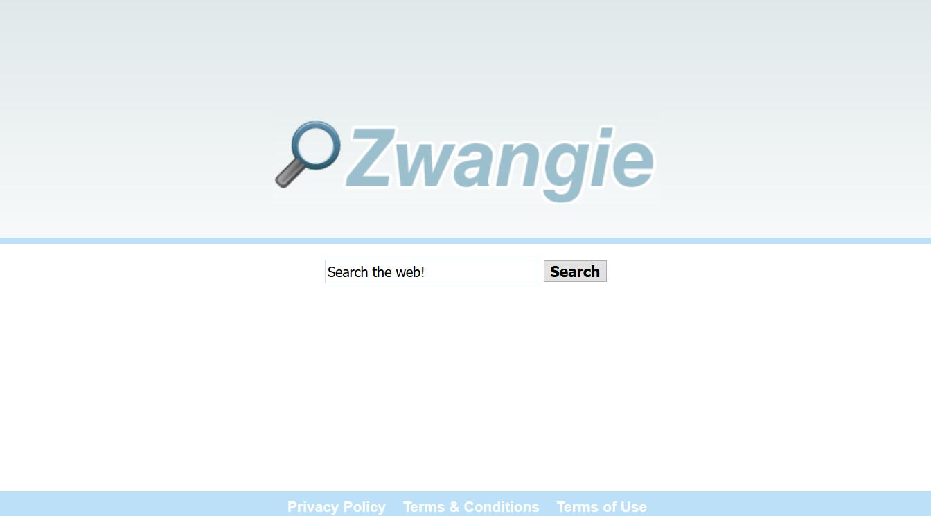 Zwangie.com hijacker