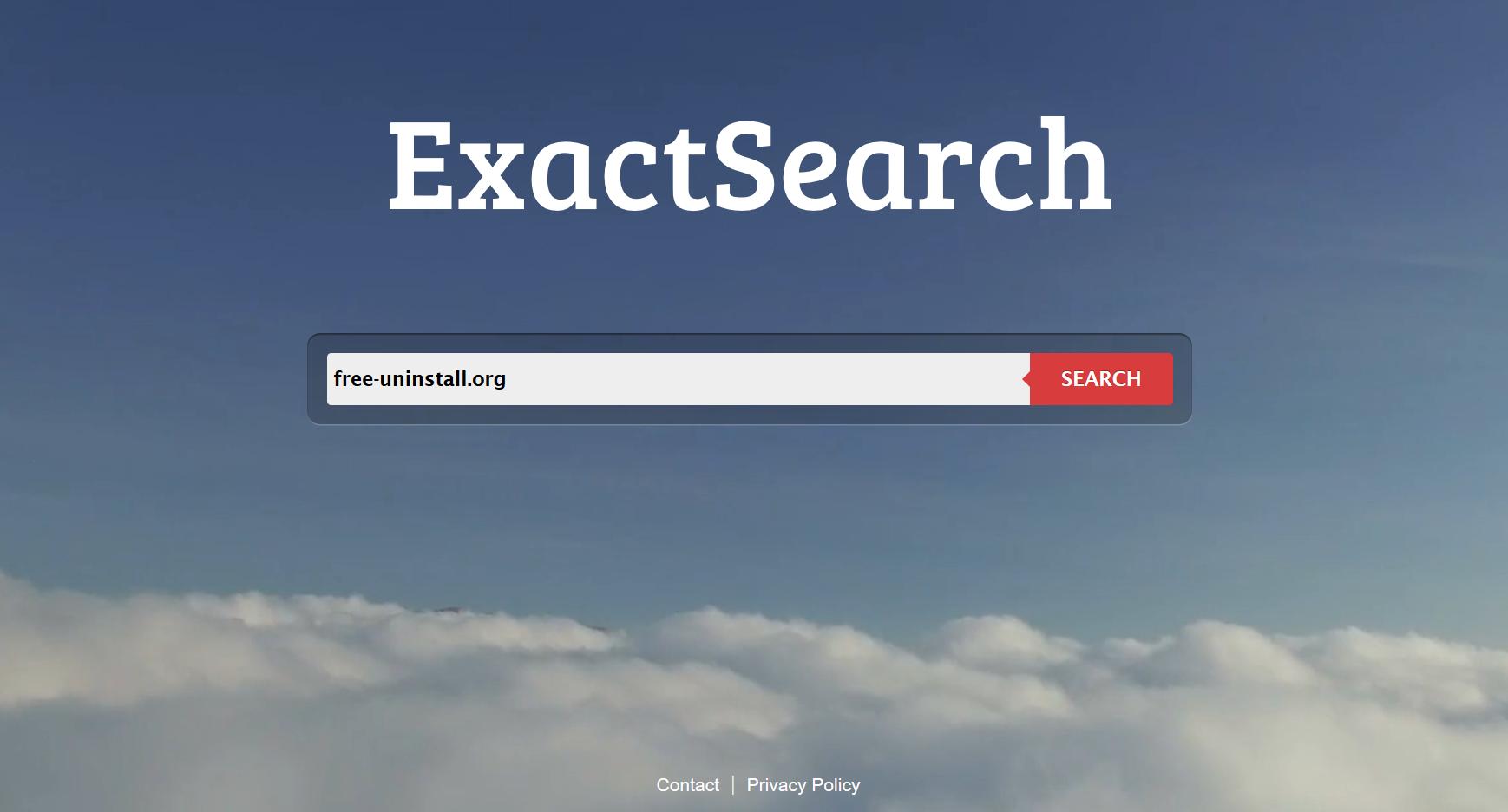 Exactsearch.org hijacker