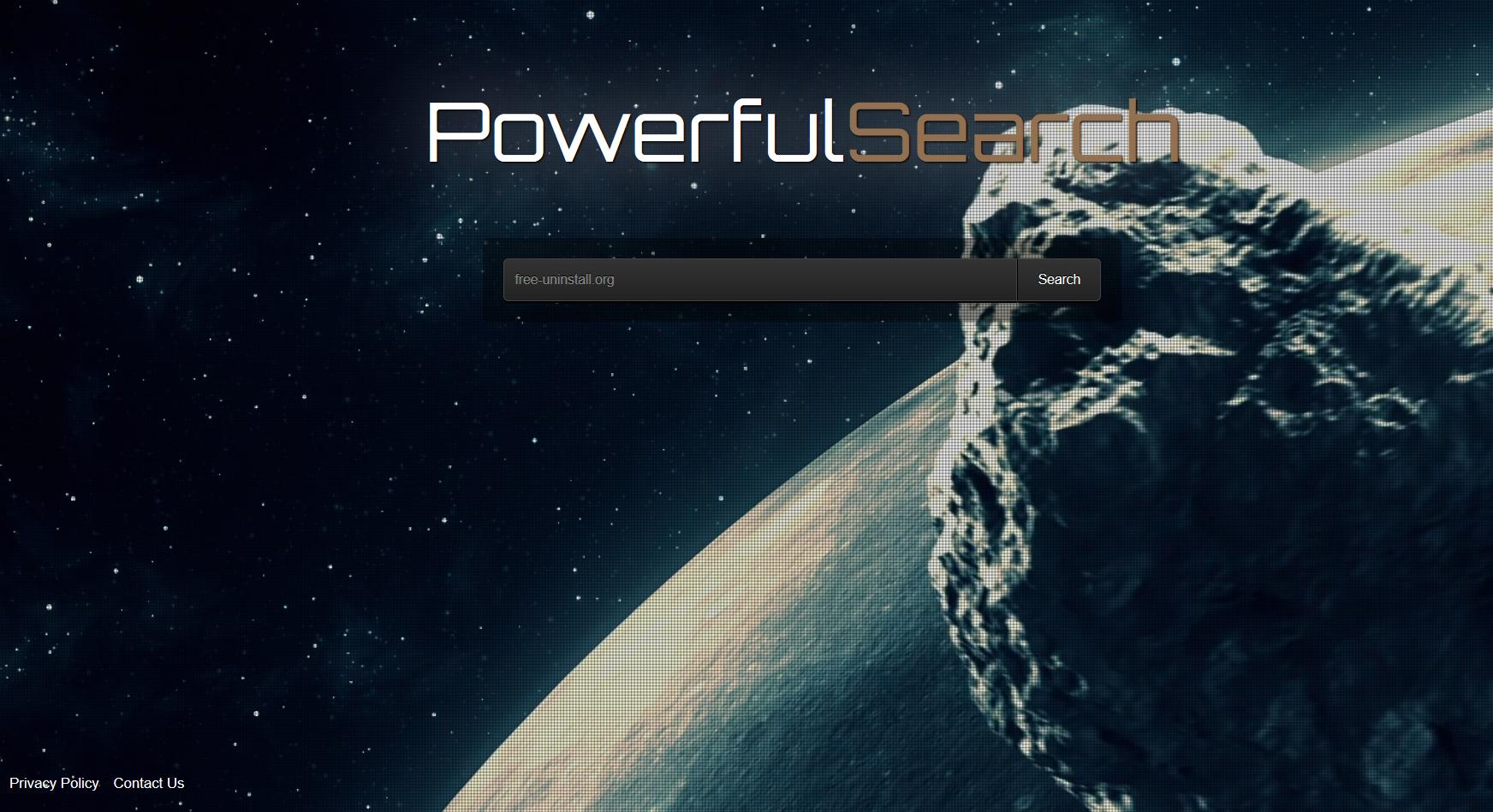 Powerfulsearch.net hijacker