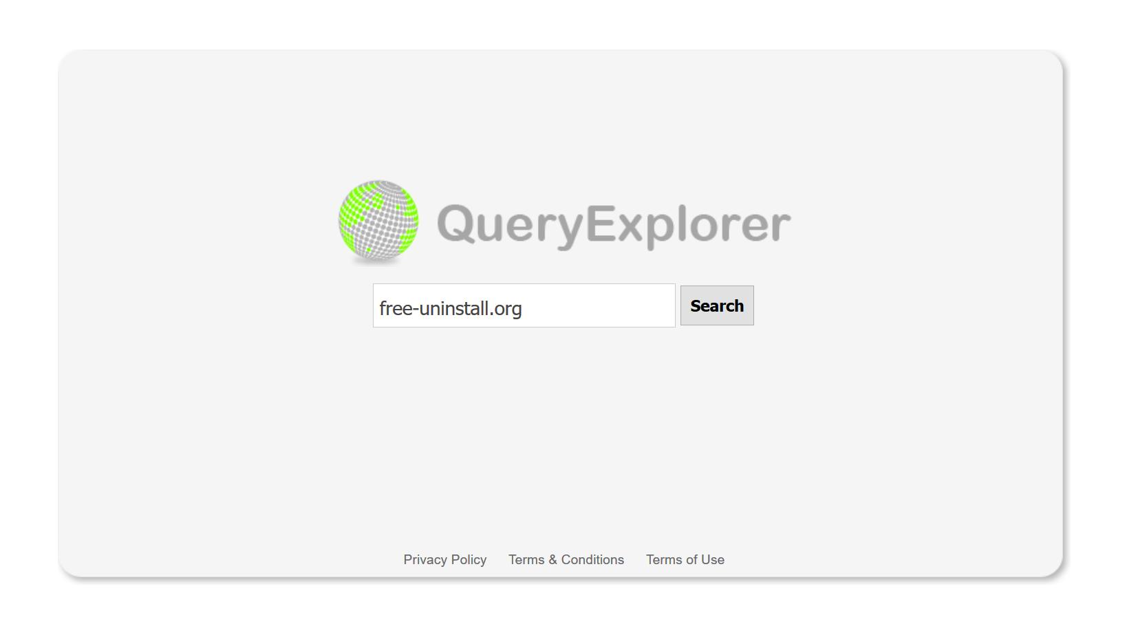 Queryexplorer.com hijacker