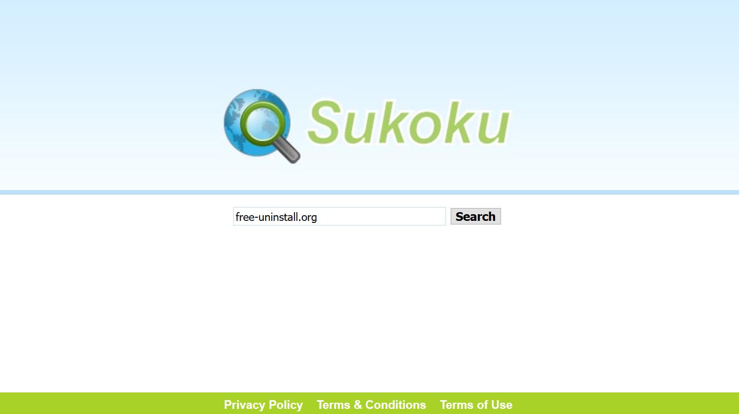 Sukoku.com hijacker
