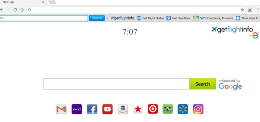 GetFlightInfo Toolbar Hijacker