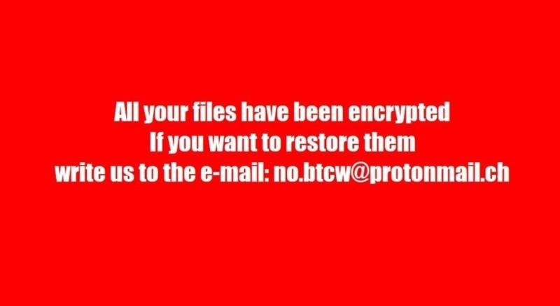BTCWare Ransomware virus