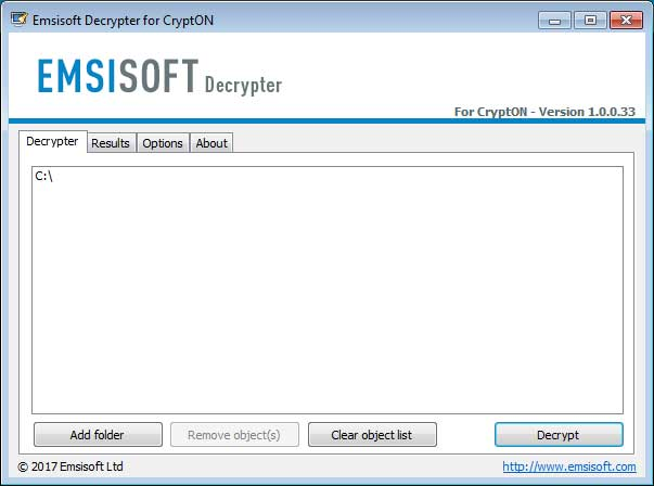 emsisoft decryptor for .losers and .damoclis files