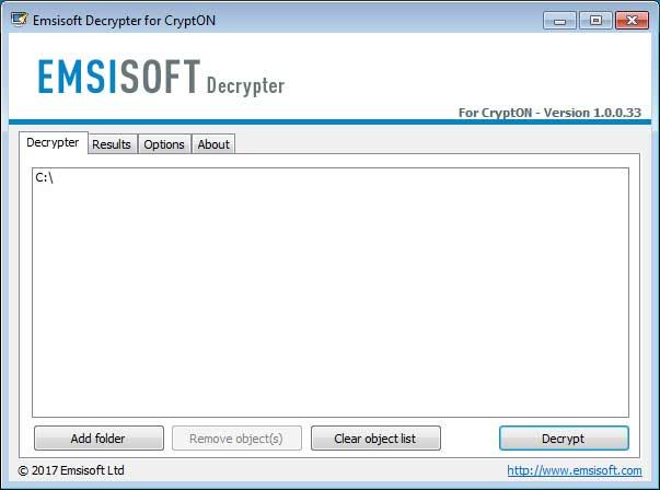 Emsisoft decryptor for .losers og .damoclis filer