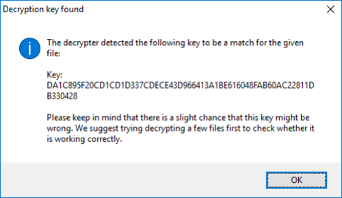emsisoft crypton successful decryption