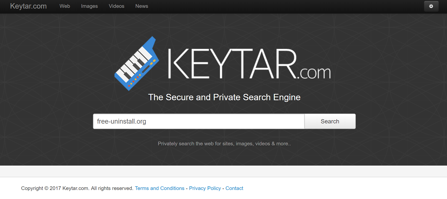 Keytar.com Hijacker